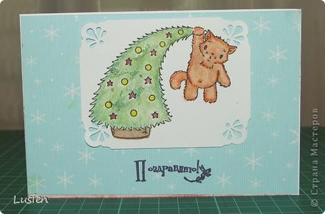 Я снова с открытками:) А Новый год все ближе и ближе:) фото 4