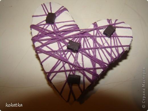 Мои первые две роботы с зернами кофе. Это дерево - сердце и сердце - магнит на холодильник.  фото 12
