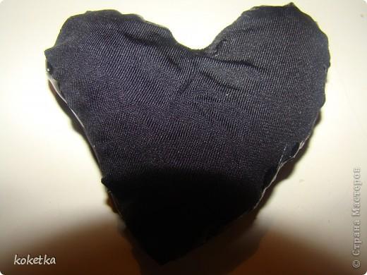 Мои первые две роботы с зернами кофе. Это дерево - сердце и сердце - магнит на холодильник.  фото 13