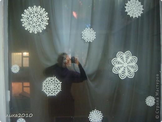 Вы уже были у меня в гостях осенью ( http://stranamasterov.ru/node/111827 ). Сменилось время года, сменился и  интерьер! Итак, зимнее праздничное настроение! Это приемная. Большая звезда покупная, маленькие самодельные. фото 10