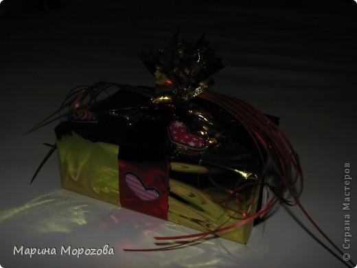 Вот такая упаковочка у подарка на День рождения получилась! фото 2