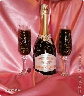 Хрустально-золотой новогодний подарок.   фото 1