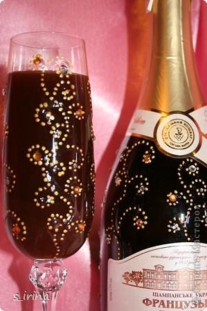 Хрустально-золотой новогодний подарок.   фото 5