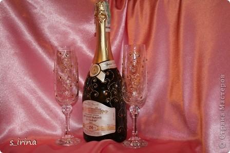 Хрустально-золотой новогодний подарок.   фото 2