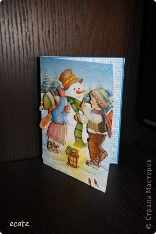"""Открытка """"Новогодняя"""" фото 3"""