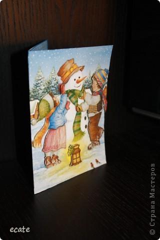 """Открытка """"Новогодняя"""" фото 4"""