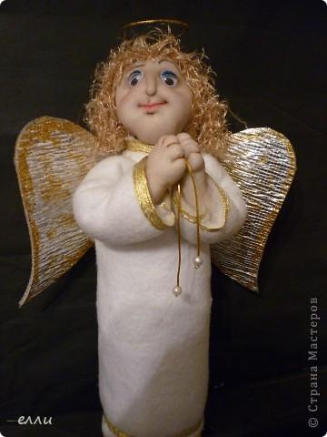 Вот такой ангелочек отправиться в Москву-внуку. фото 1