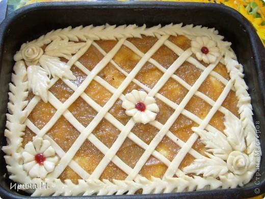 Булочки и пирог с повидлом. фото 2