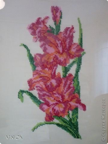 Люблю цветы! Одна из моих работ на День Учителя в Год Учителя. фото 1