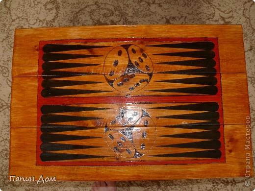 Столик для игры в нарды фото 2