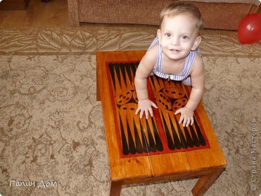 Столик для игры в нарды фото 4