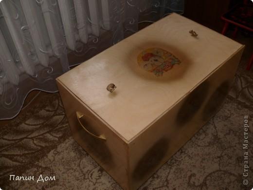 Ящик для игрушек младшего сына. фото 5