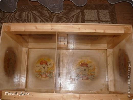Ящик для игрушек младшего сына. фото 6