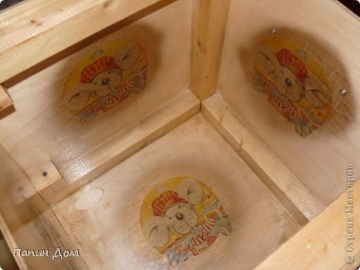 Ящик для игрушек младшего сына. фото 7