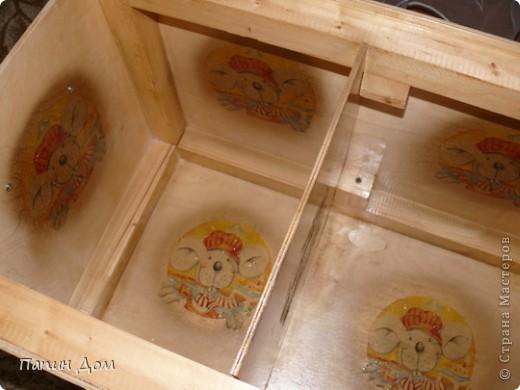 Ящик для игрушек младшего сына. фото 8