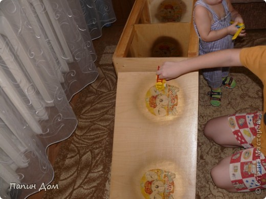 Ящик для игрушек младшего сына. фото 9