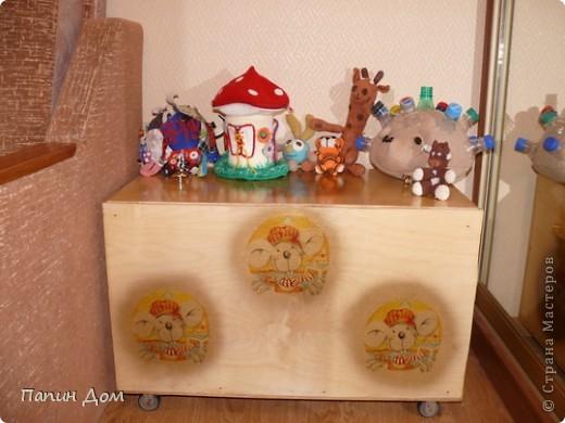 Ящик для игрушек младшего сына. фото 11