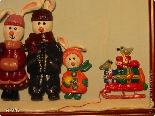 Одну такую кроличью семейку я попросила попозировать. :-)))))) фото 2