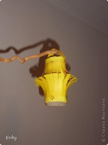 Новогодняя композиция (керамический ангел, сосновые шишки, акриловые краски, лак, держатели для салфеток, свеча, ваза с ветвями) фото 6