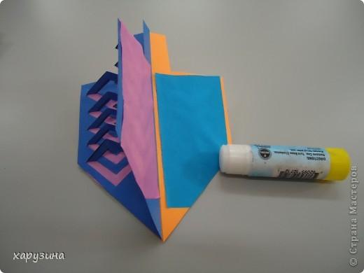 Хочу поделиться с вами секретами изготовления такого бумажного волчка. фото 24