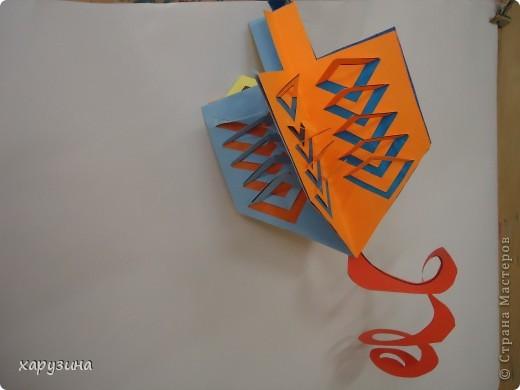 Хочу поделиться с вами секретами изготовления такого бумажного волчка. фото 27