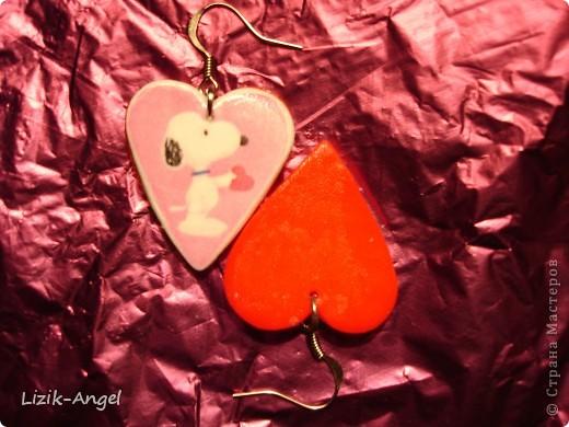 В подарок к НГ наделала одногруппникам сережек с их любимыми персонажами. :) Снуппи фото 1