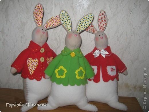 Эти братцы-кролики поехали в Москву и будут кому-то подарками. Надеюсь их будут любить и беречь. фото 1