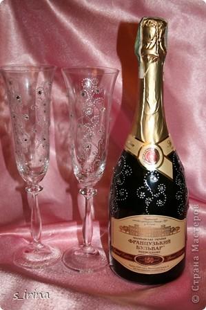 Хрустально-золотой новогодний подарок.   фото 8