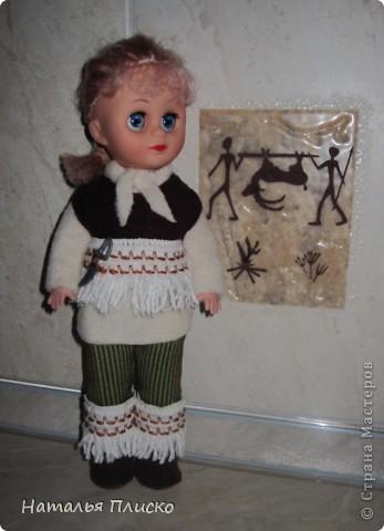 """В детском саду мне дали очередное """"домашнее"""" задание - пошить куклам наряды  с национальной тематикой. Вот что у меня получилось... фото 2"""