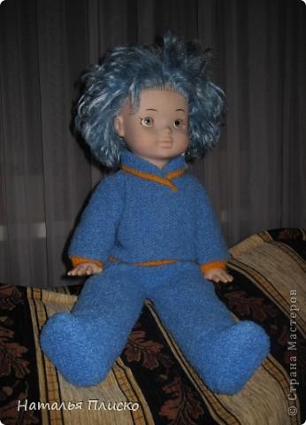 """В детском саду мне дали очередное """"домашнее"""" задание - пошить куклам наряды  с национальной тематикой. Вот что у меня получилось... фото 7"""