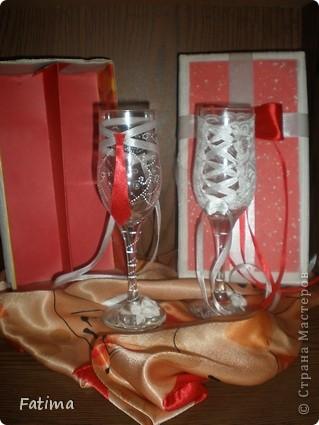 Мои свадебные бокалы фото 6