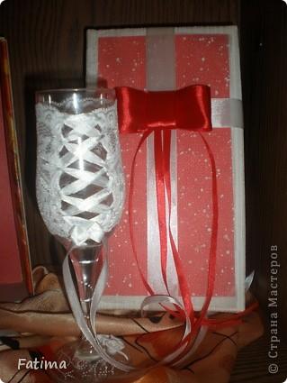 Мои свадебные бокалы фото 5