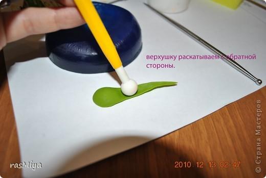 Мастер-класс Лепка МК по лепке розы Часть 2-чашелистики Фарфор холодный фото 3
