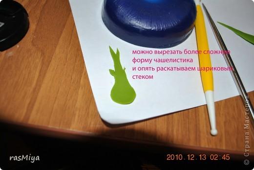 Мастер-класс Лепка МК по лепке розы Часть 2-чашелистики Фарфор холодный фото 4