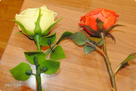 Мастер-класс Лепка Мастер-класс по лепке розы Часть 1 Фарфор холодный фото 1
