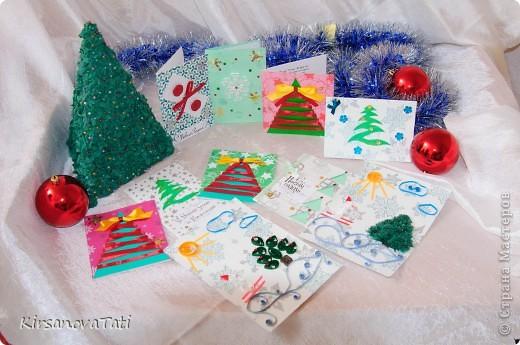 Новогодние и Рождественские открытки фото 2