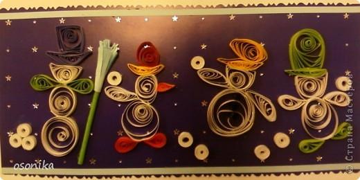 Такие открытки мы с первоклашками выполнили для городского конкурса.  фото 3