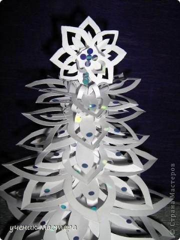 Эта елочка появилась благодаря МК Надежды Каликовой - http://stranamasterov.ru/node/120608?c=favorite. Спасибо большое за прекрасные снежинки!!! фото 2
