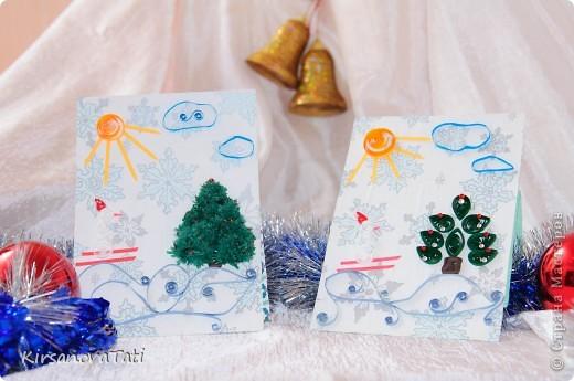 Новогодние и Рождественские открытки фото 6