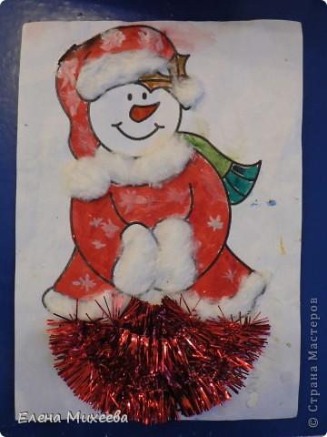 """Прочитали с детьми книгу """"Школа снеговиков"""". Вызвало прочтение книги море положительных, добрых, радостных эмоций не только у детей. Решили """"оживить"""" наших СНЕГОВИЧКОВ и СНЕГОВИЧЕК (это девочки-снеговички). фото 7"""