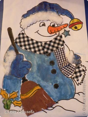 """Прочитали с детьми книгу """"Школа снеговиков"""". Вызвало прочтение книги море положительных, добрых, радостных эмоций не только у детей. Решили """"оживить"""" наших СНЕГОВИЧКОВ и СНЕГОВИЧЕК (это девочки-снеговички). фото 6"""