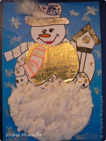 """Прочитали с детьми книгу """"Школа снеговиков"""". Вызвало прочтение книги море положительных, добрых, радостных эмоций не только у детей. Решили """"оживить"""" наших СНЕГОВИЧКОВ и СНЕГОВИЧЕК (это девочки-снеговички). фото 9"""