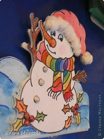 """Прочитали с детьми книгу """"Школа снеговиков"""". Вызвало прочтение книги море положительных, добрых, радостных эмоций не только у детей. Решили """"оживить"""" наших СНЕГОВИЧКОВ и СНЕГОВИЧЕК (это девочки-снеговички). фото 1"""