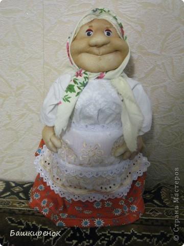 Ещё одна моя кукла-бабулька.