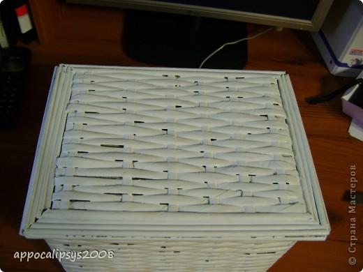 плетеная шкатулка фото 1