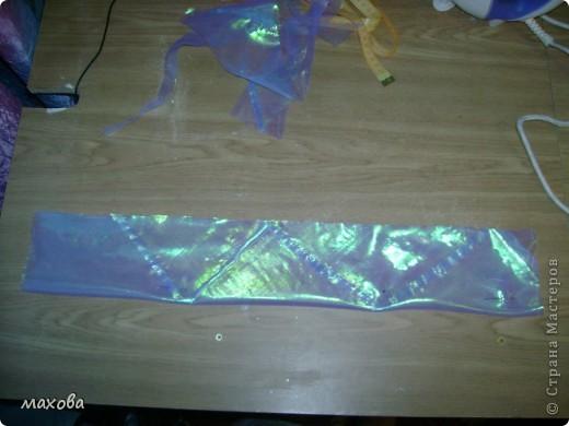 попробую показать как сделать вот такой отворот на платье(корсет  http://stranamasterov.ru/node/95427 )  фото 2