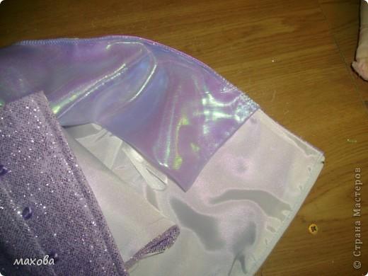 попробую показать как сделать вот такой отворот на платье(корсет  http://stranamasterov.ru/node/95427 )  фото 12