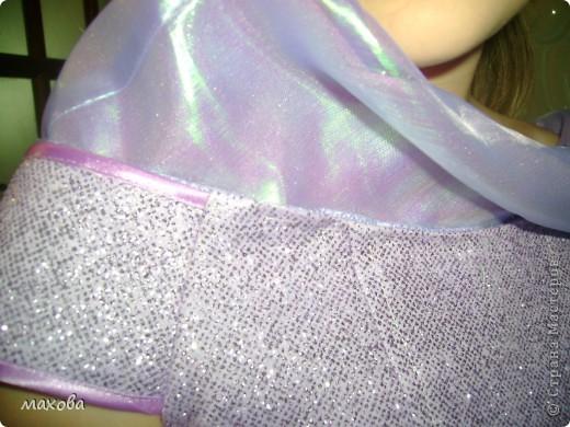 попробую показать как сделать вот такой отворот на платье(корсет  http://stranamasterov.ru/node/95427 )  фото 15