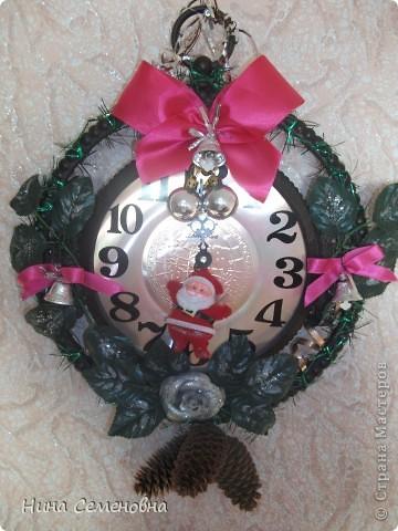 Старинные часы.....снова засверкали своей красотой в волшебную новогоднюю ночь!!!