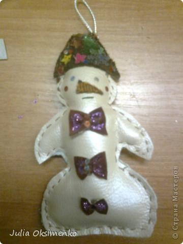 Снеговичок на благотворительную выставку)